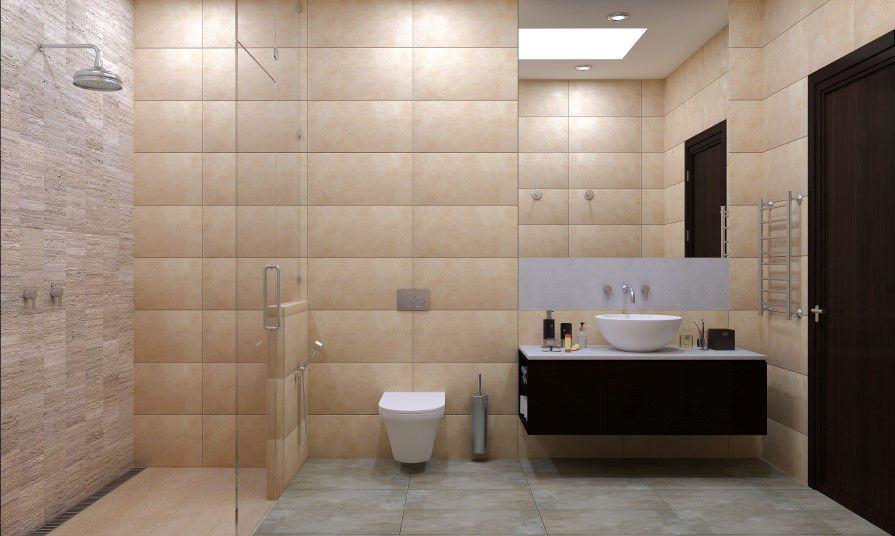 Wet room Easy access installation